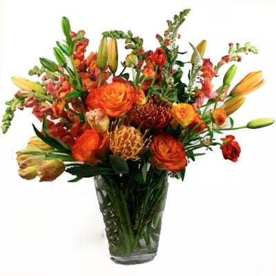 Blissful Flower Arrangement | San Francisco Florist Since 1871 Free Bay Area and San Francisco Flower Delivery