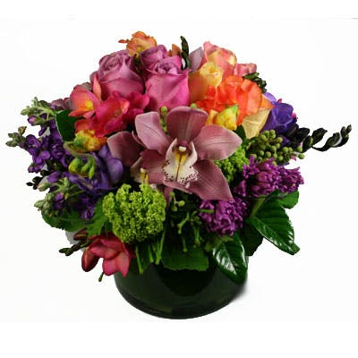 Kaleidoscope Flower Arrangement | San Francisco Florist Since 1871 Free Bay Area and San Francisco Flower Delivery