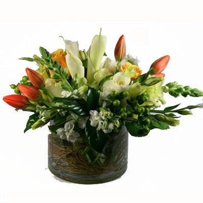 Oriole's Nest Flower Arrangement