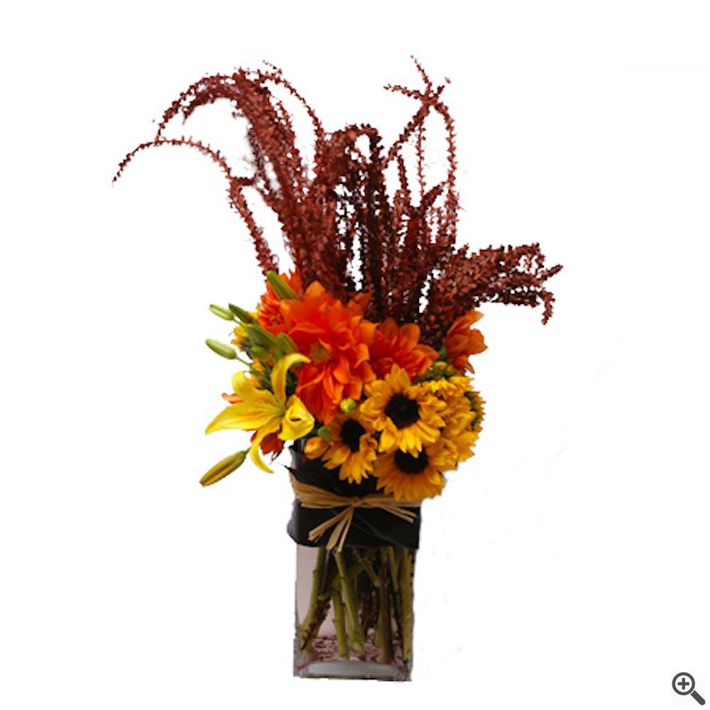 Amber Waves Flower Arrangement