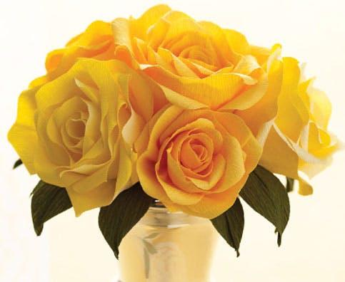 Six Rose Bouquet Wrap