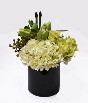 Cool Greens Flower Arrangement