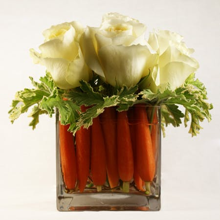 Carrot Cake Flower Arrangement | San Francisco Florist Since 1871 Free Bay Area and San Francisco Flower Delivery