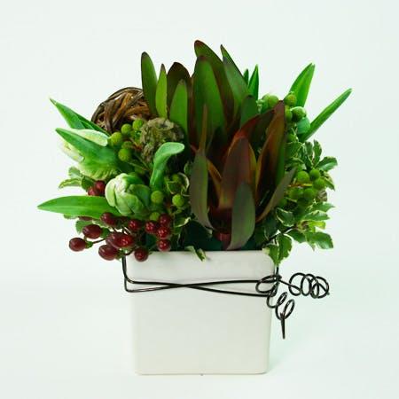 Blast of Brown Flower Arrangement | San Francisco Florist Since 1871 Free Bay Area and San Francisco Flower Delivery