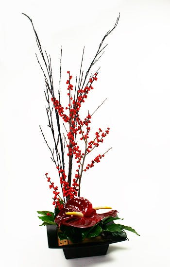 Red Sky Flower Arrangement