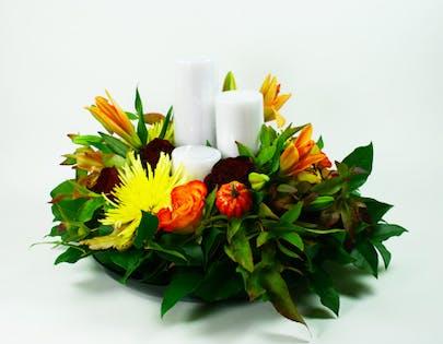 Large Autumn Centerpiece 1 Flower Arrangement