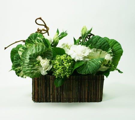 Natural White Flower Arrangement