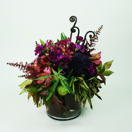 Violet Sunset Flower Arrangement