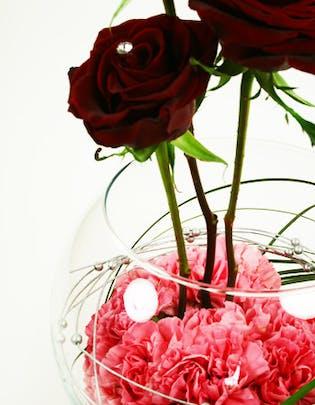 Heart's Desire Flower Arrangement