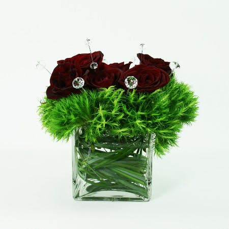 A Girl's Best Friend Flower Arrangement   San Francisco Florist Since 1871 Free Bay Area and San Francisco Flower Delivery