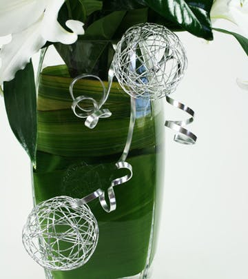 Silver Bells Flower Arrangement