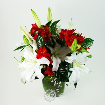 Sleigh Bells Flower Arrangement
