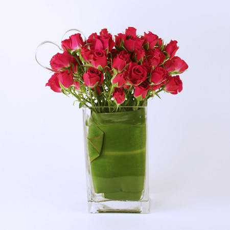 Hearts Ablaze Flower Arrangement | San Francisco Florist Since 1871 Free Bay Area and San Francisco Flower Delivery