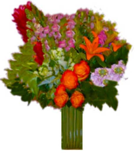 """Corporativo Tropicale"" Flower Arrangement"