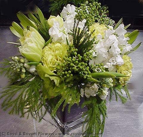 Lemon-Lime Spritzer Flower Arrangement