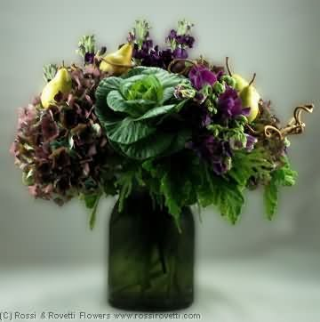 "Spiced Pears & Plum - ""Inverno Collection"" Flowers"