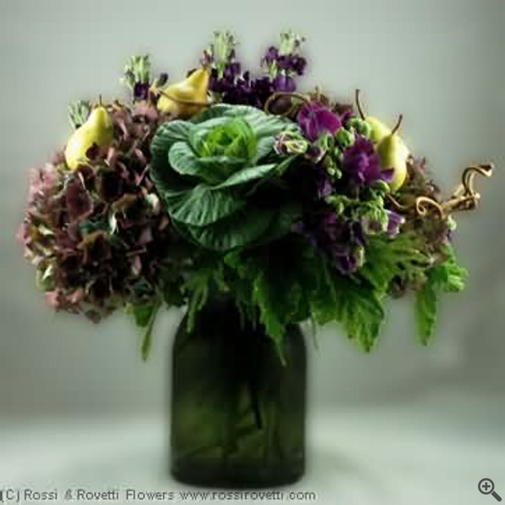 """Spiced Pears & Plum - """"Inverno Collection"""" Flowers"""
