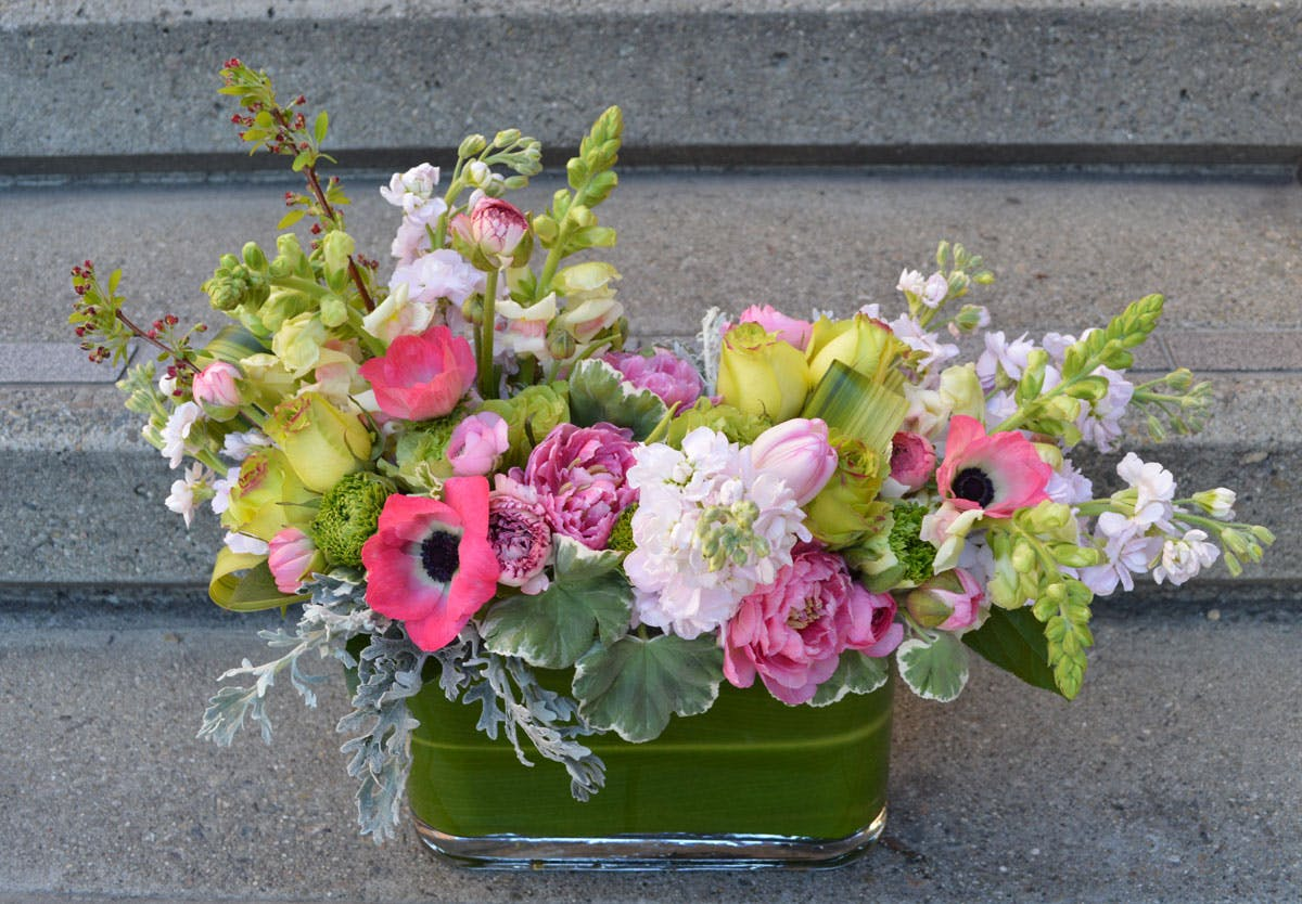 Blush Flower Arrangement