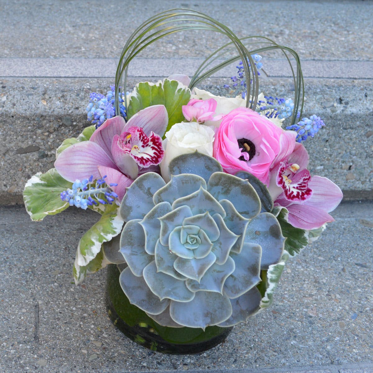 Bunny Hop Flower Arrangement