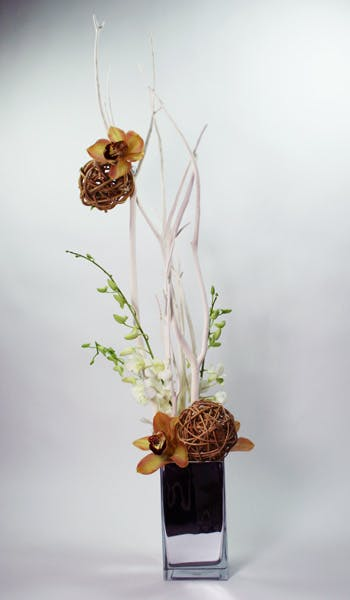 White Chocolate Flower Arrangement
