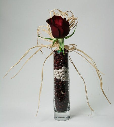 Beans and Reds Flower Arrangement | San Francisco Florist Since 1871 Free Bay Area and San Francisco Flower Delivery
