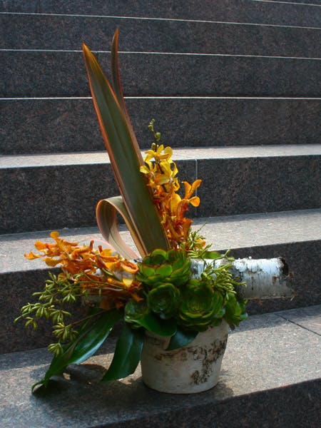 Avant Garde Flower Arrangement
