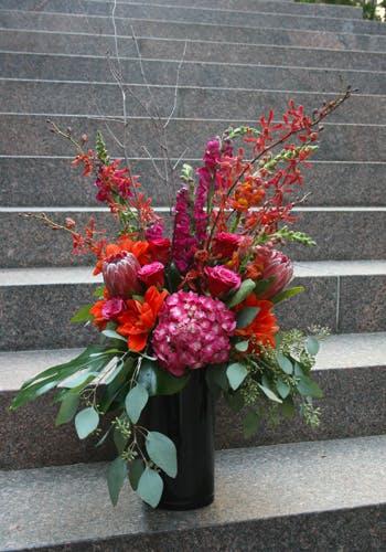 Get PINK Flower Arrangement