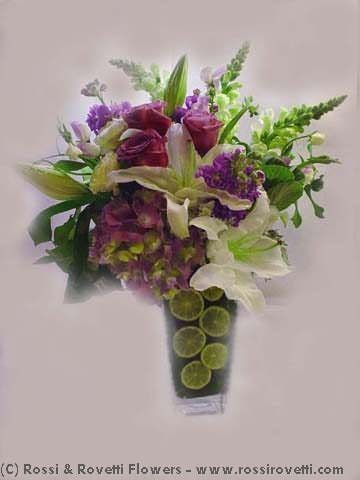 "Limes & Flowers - ""Citrus Collection"" Flower"