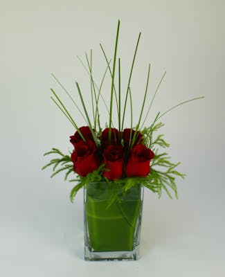 Contemporary Love Flower Arrangement