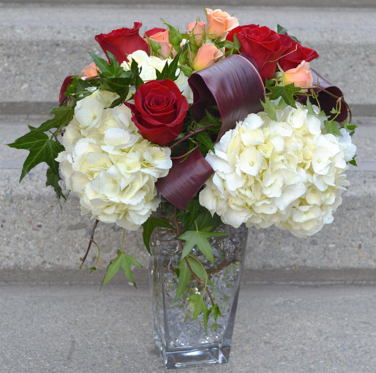 Love on the Rocks - Flower Arrangement