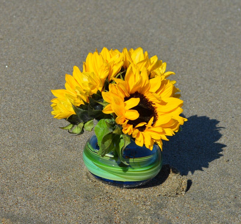 Sunflowers by the Sea Flower Arrangement