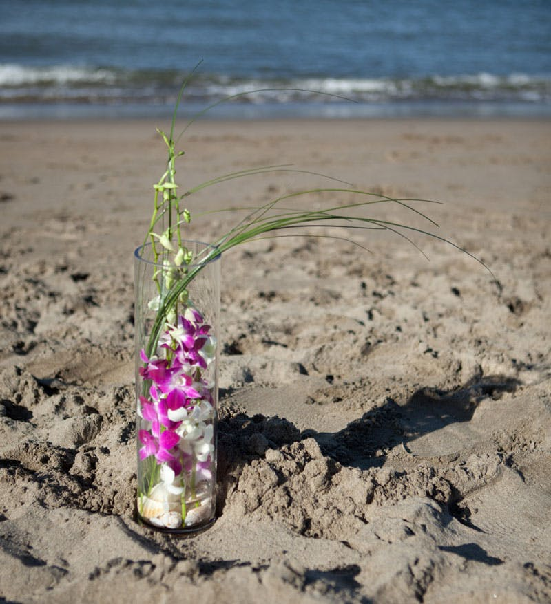 Summer Orchid Flower Arrangement