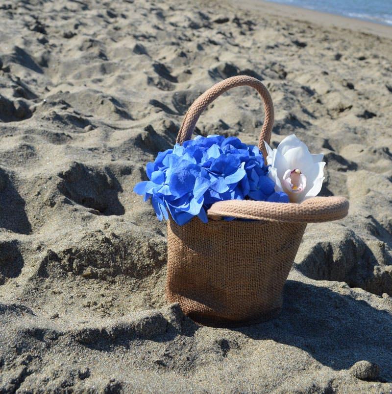 Hawaiian Basket Flower Arrangement