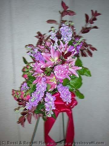 Sympathy or Funeral Spray Flower Arrangement
