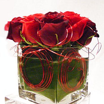 Wired Flower Arrangement