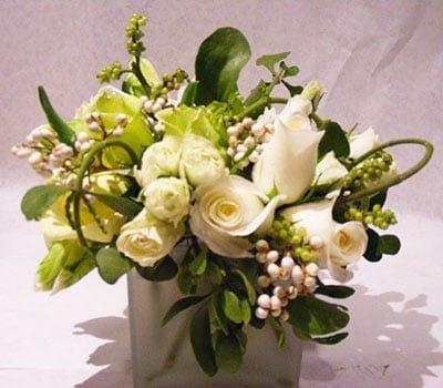 Snow Berry Flower Arrangement