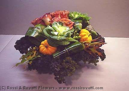 "Vegetable Garden Box- ""Inverno Collection"" Flowers"