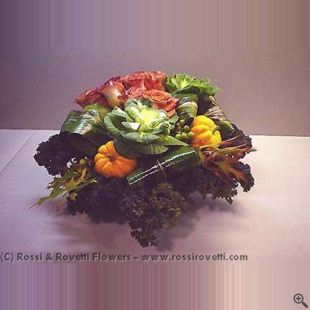 """Vegetable Garden Box- """"Inverno Collection"""" Flowers"""
