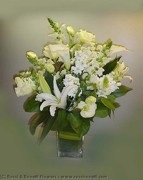 Wonderful Whites & Creams Flower Arrangement