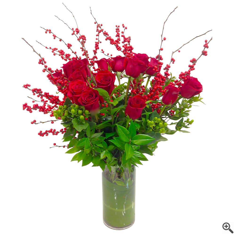 18 Long Stem Roses - Corporate Style