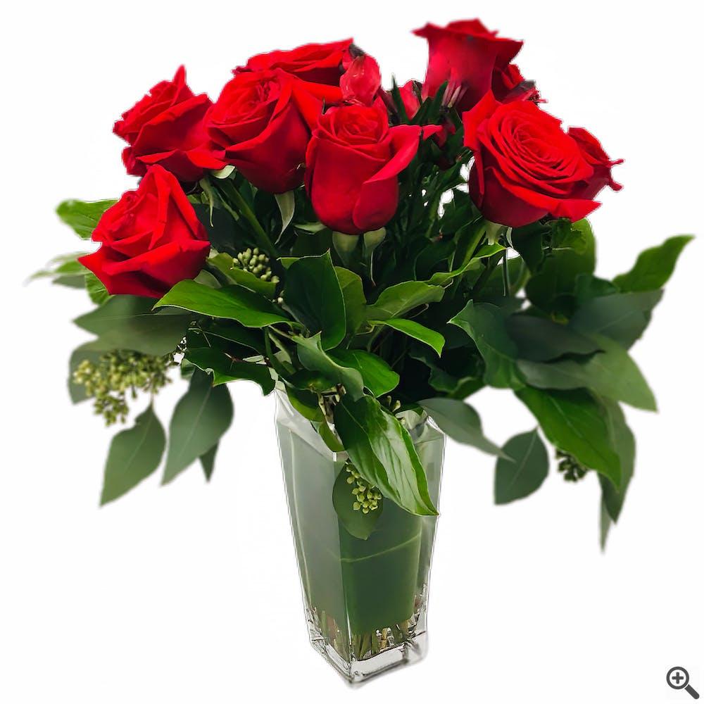 1 Dozen Flowers - Valentine Famoso Roses