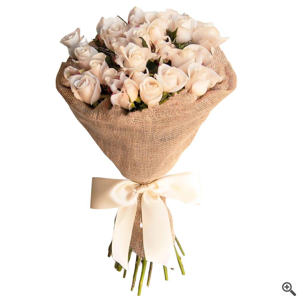 Two Dozen (24) Roses Wrapped
