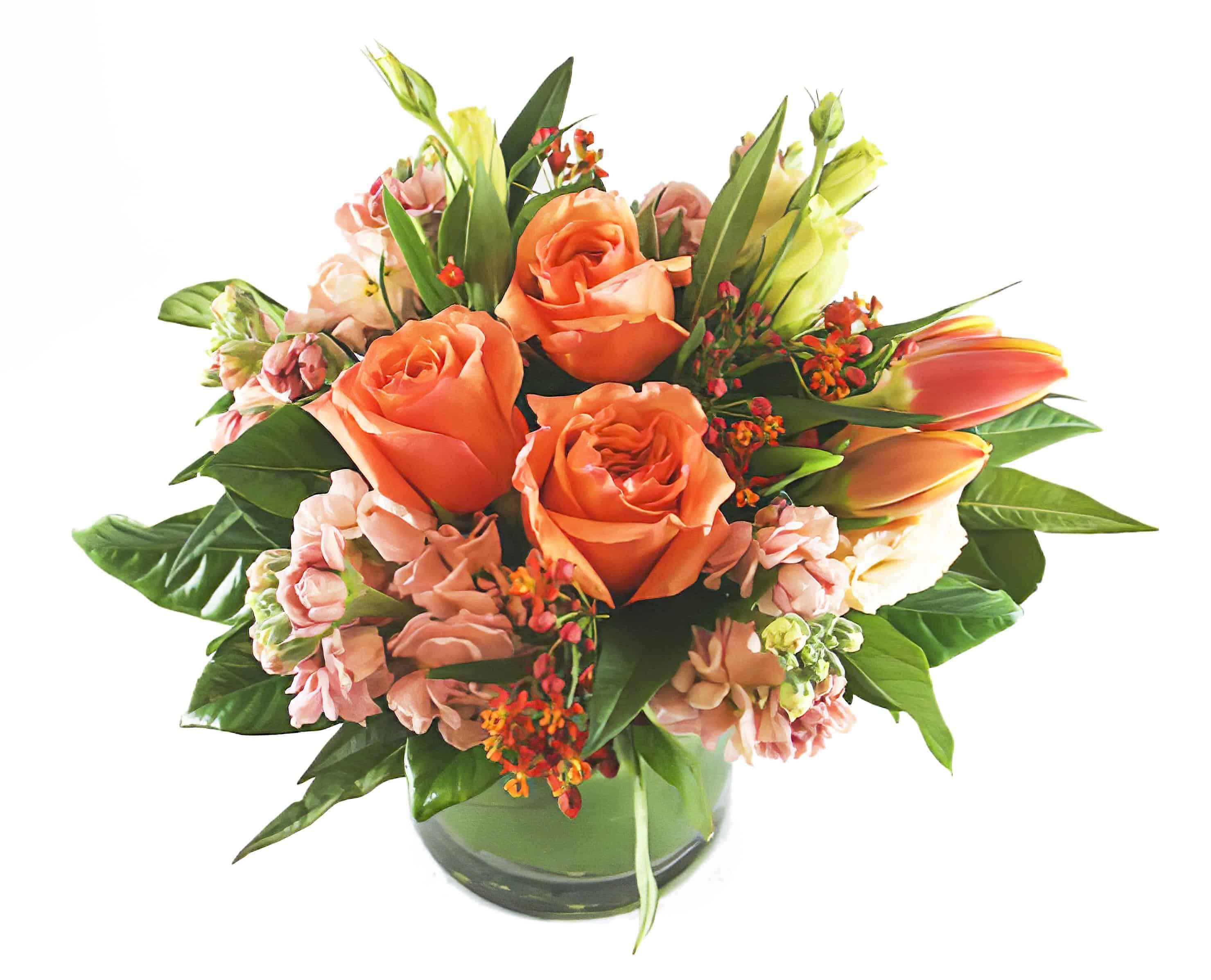 Ponte Vecchio Flower Arrangement | San Francisco Florist Since 1871 Free Bay Area and San Francisco Flower Delivery