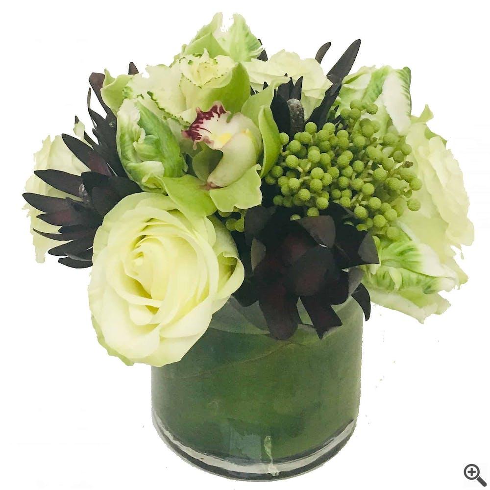 Antique White Floral Arrangement