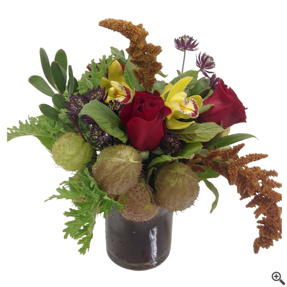 Pod Perfect Flower Arrangement