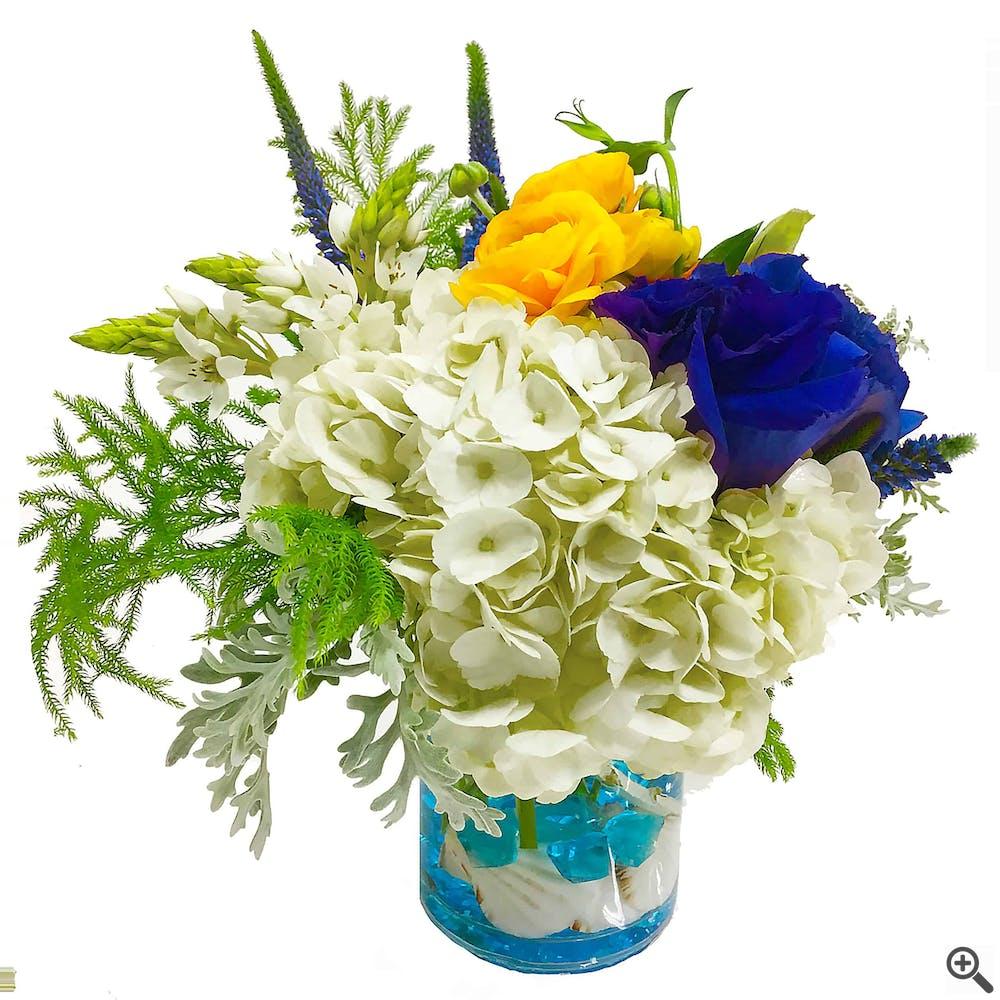 Blue Horizon Flower Arrangement