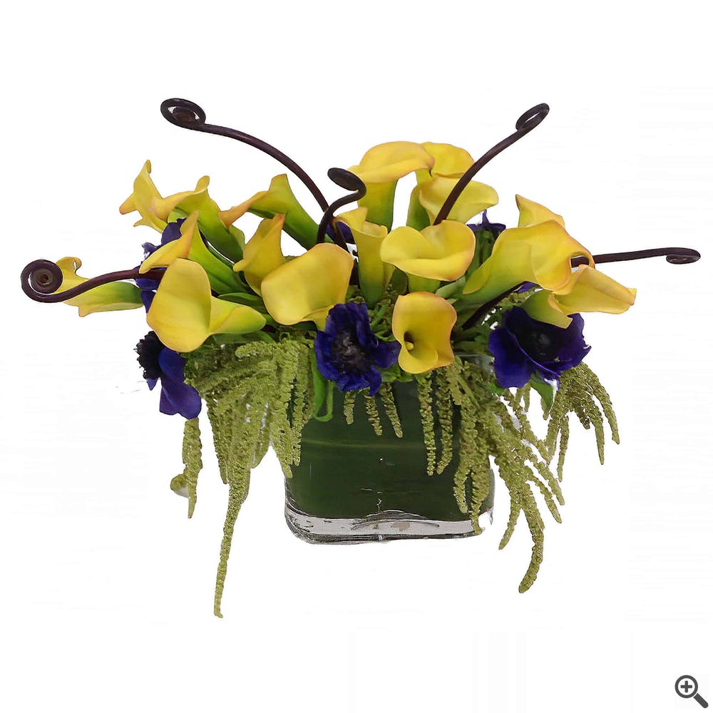Calla Curls Floral Arrangement
