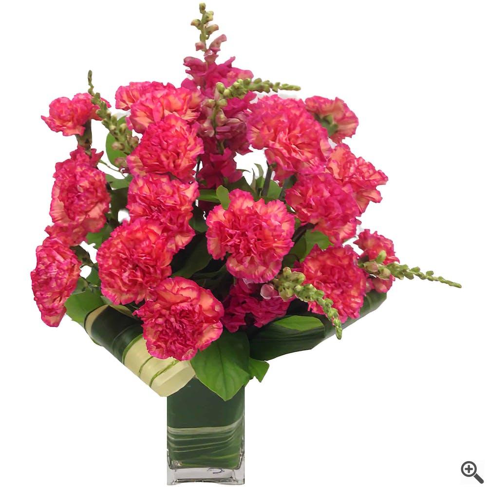 Carnation Moderne Arrangement