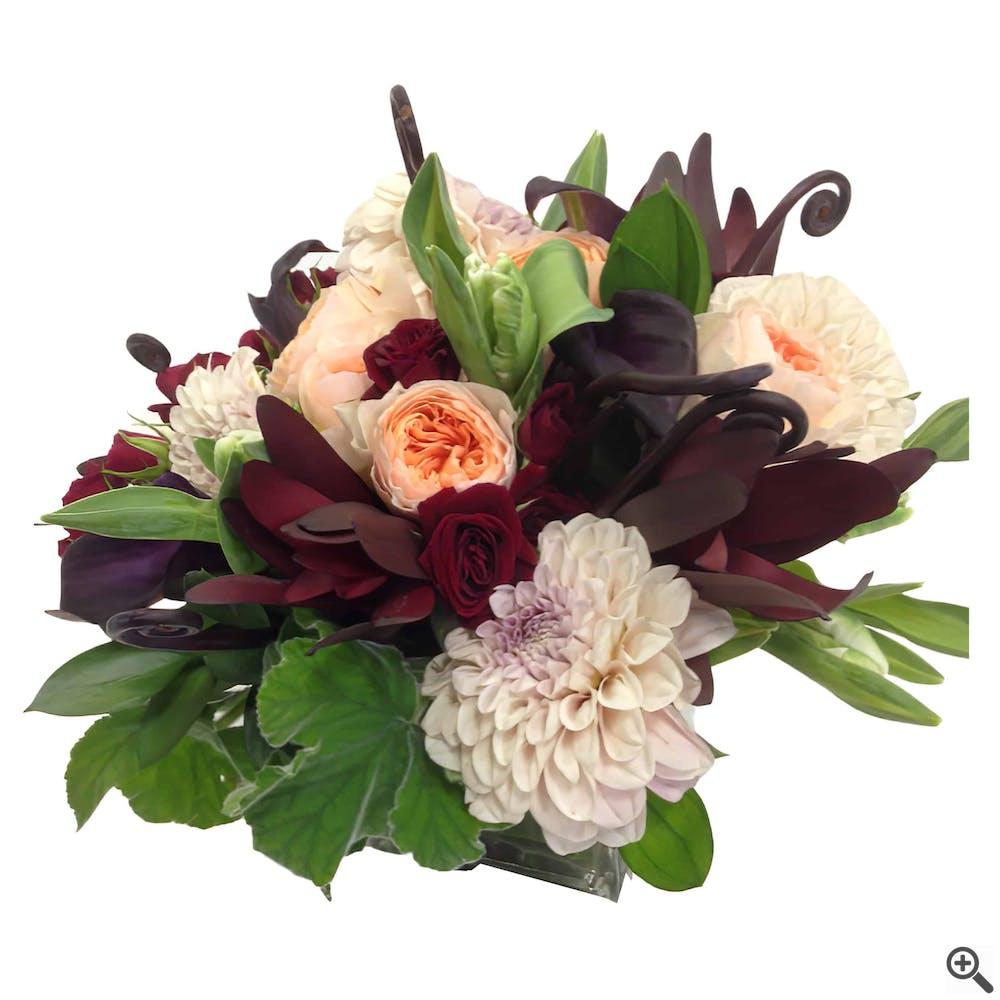 Chocolate Romance Floral Arrangement