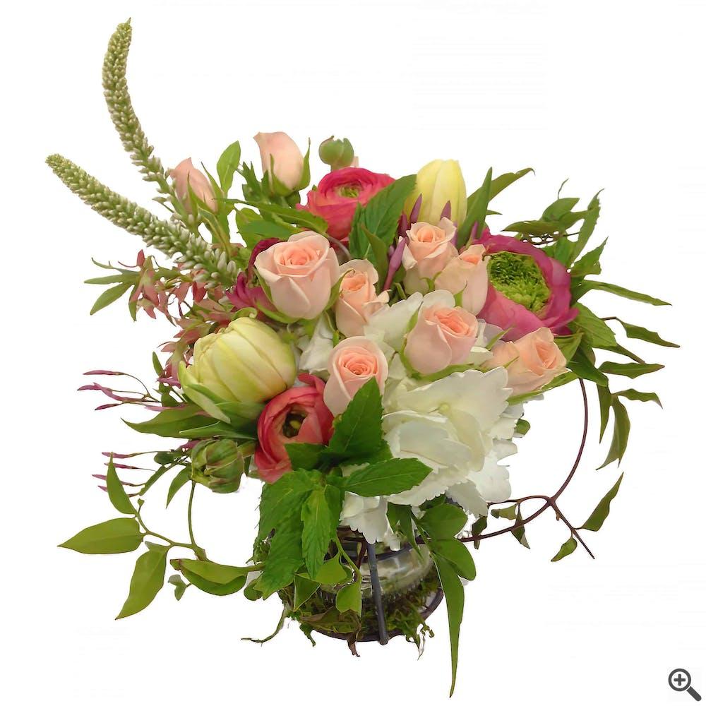 Garden Jar of Flowers